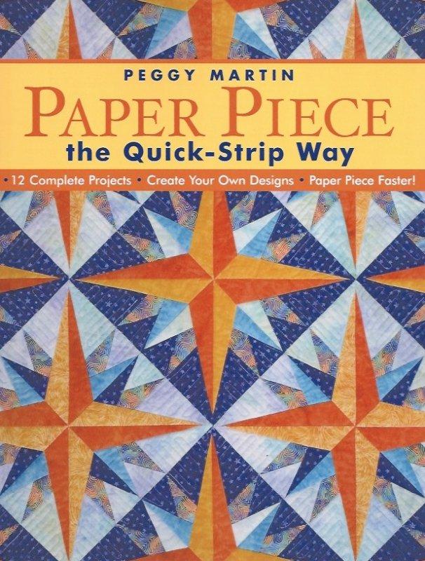 *Paper Piece the Quick-Strip Way - (PP100)