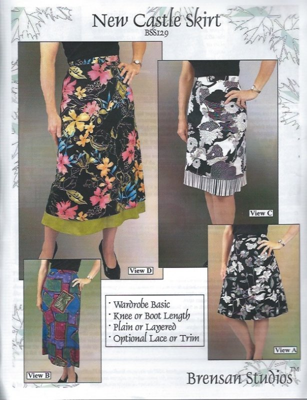 *New Castle Skirt Pattern - BSS129