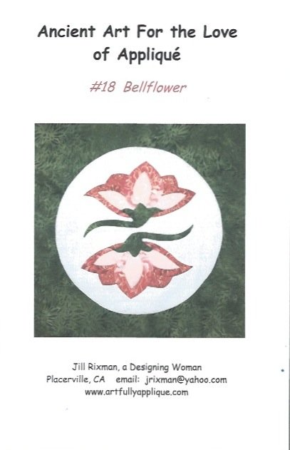 *Ancient Art for the Love of Applique (Bellflower) - #18