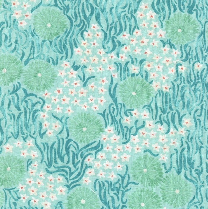 Aqua Seaweed & Flowers - SEA-C4610