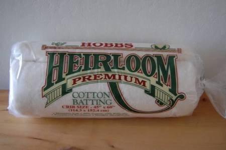 Hobbs Heirloom Premium Crib Batting - HL-45