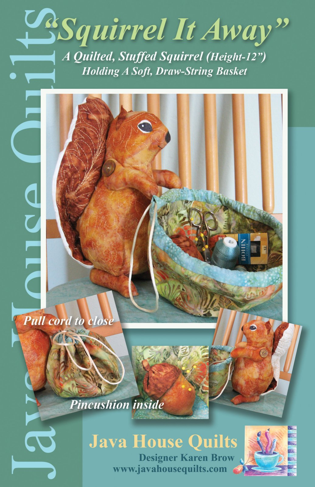 Squirrel It Away Organizer Pattern