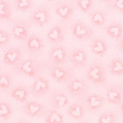 Pink Hearts Flannel - SRKF-17009-10