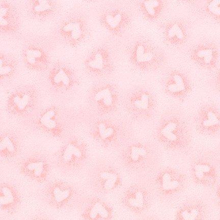 *Pink Hearts Flannel - SRKF-17009-10