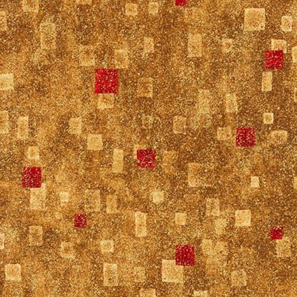 Red and Gold Klimt Boxes - SRKM-17181-3 - MAY BE RESTOCKED UPON REQUEST