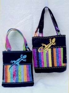 *Gecko Delight Bag - An Over The Shoulder Bag Pattern - (SWD228)