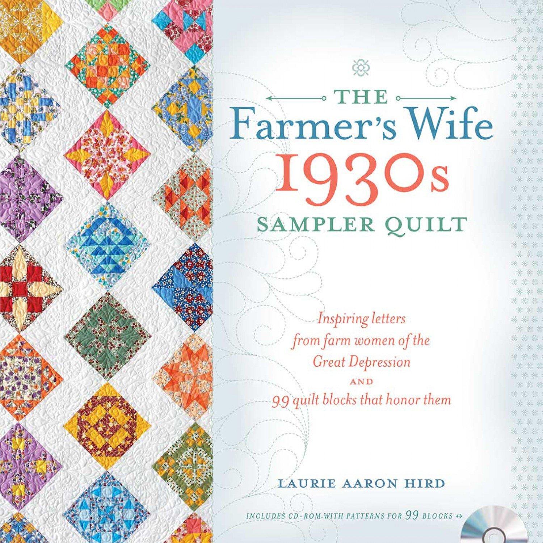 The Farmer's Wife 1930s Sampler Quilt - T2131