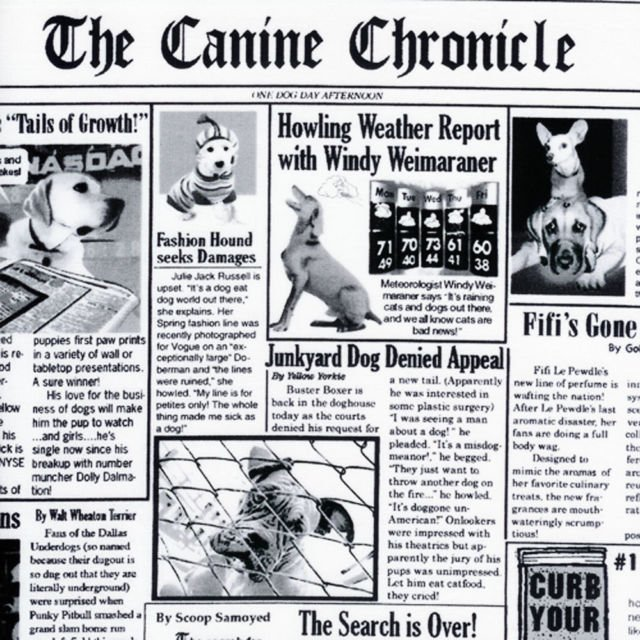 Canine Chronicles - C9705