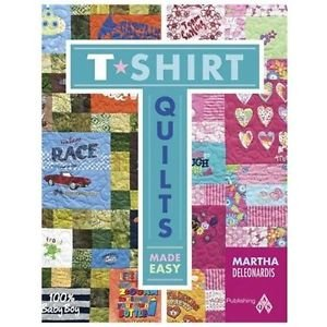 T-Shirt Quilts Made Easy - AQS8664