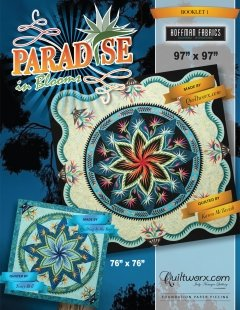 Paradise in Blooms Pattern - JNQ175P