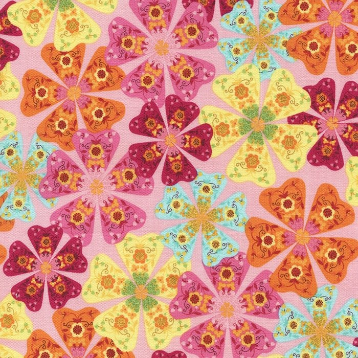 Pink Packed Floral - TRIBECA-C3947