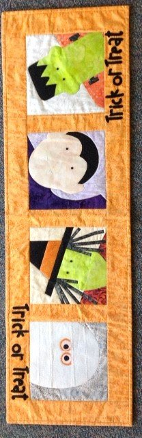 *October Table Please - Trick or Treat Table Runner- TPOCTK-01