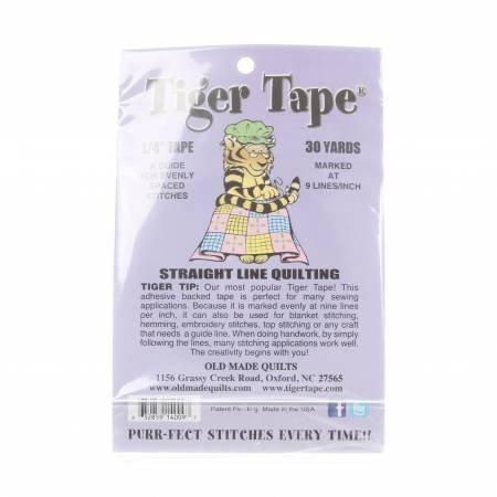 *Tiger Tape 9 Marks Inch - TT-149