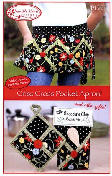 *Criss Cross Pocket Apron - VHD199