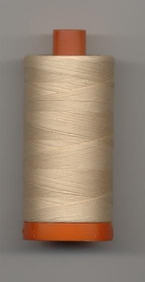 Aurifil 50 wt. Cotton Mako Thread (Pale Flesh) - 20051-2315