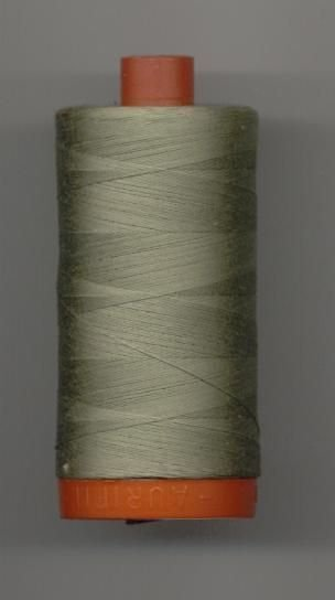 *Aurifil 50wt 200m (Light Khaki Green) -20050-2900