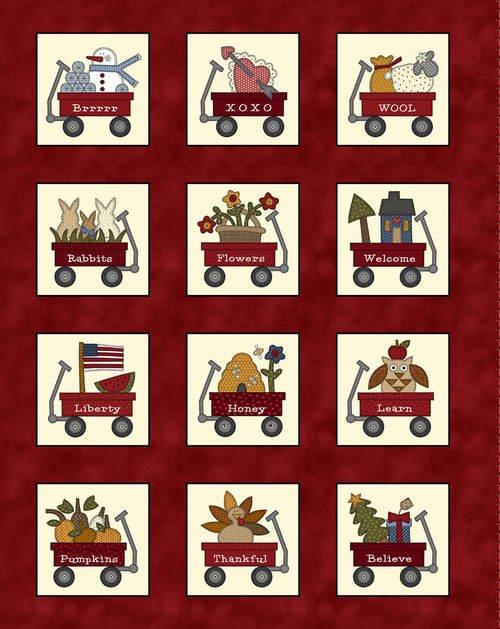 My Red Wagon 2557P-88