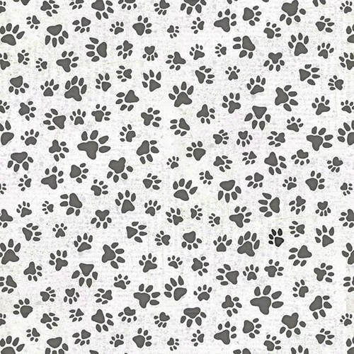 All You Need 9054-90 White Paw Print