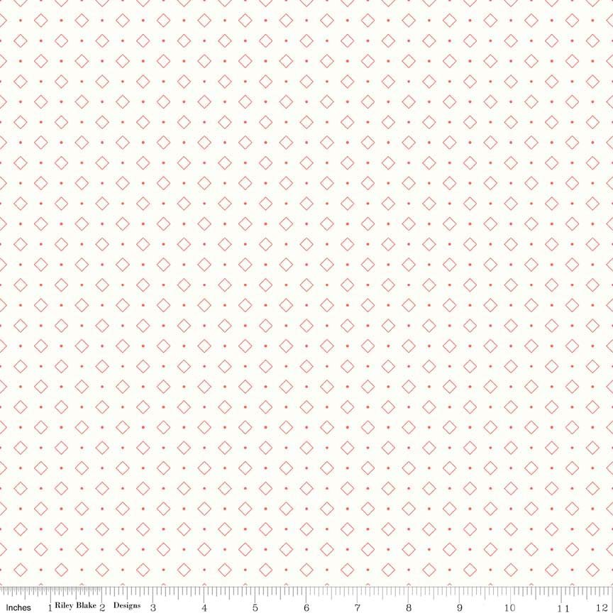 Bee Backgrounds C6386 - coral