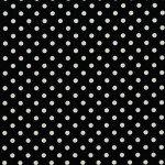 Black w/white dots