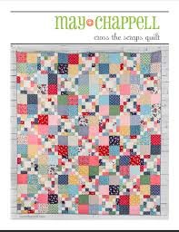 Cross the Scraps Quilt