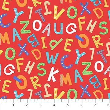 Alphabet Soup F22391 Red