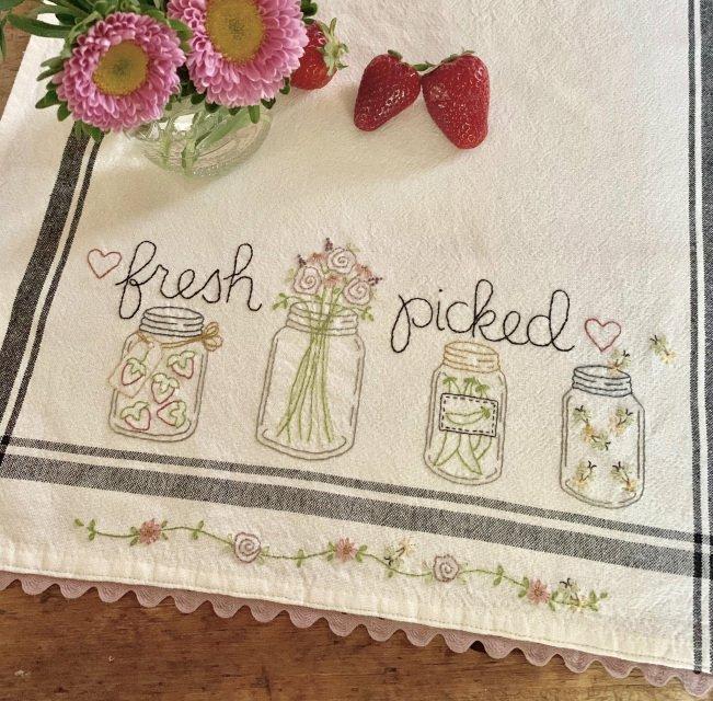 Fresh Picked Dishtowel Pattern