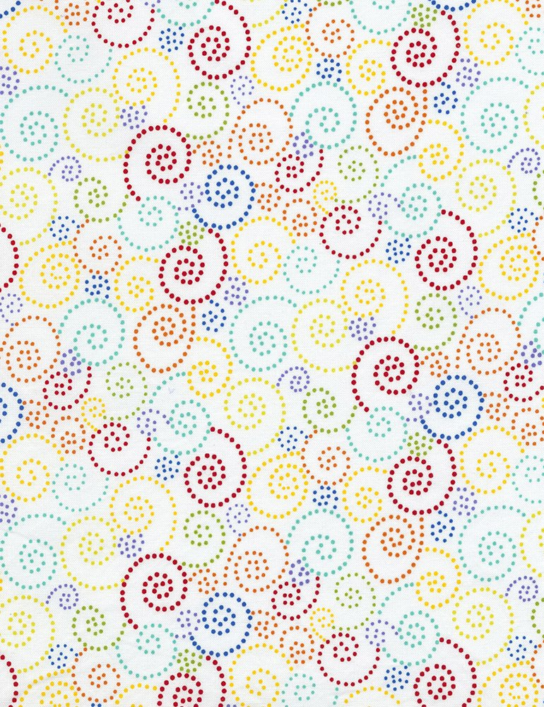 Gail C5509 White Swirls