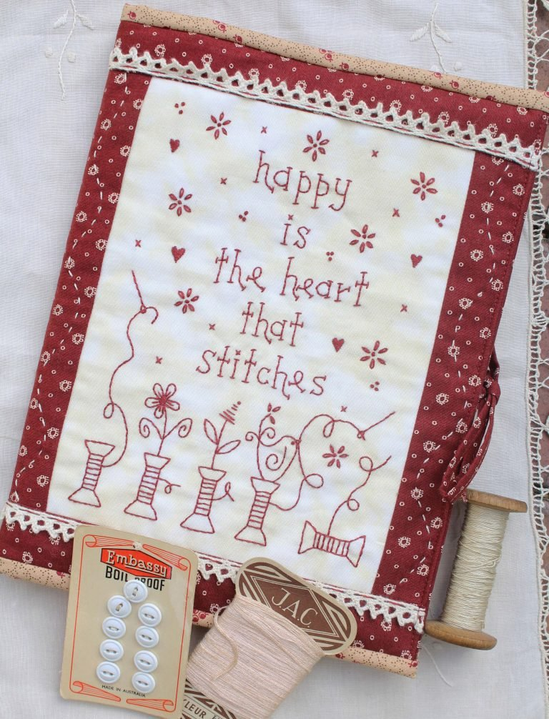 Happy Is the Heart That Stitches