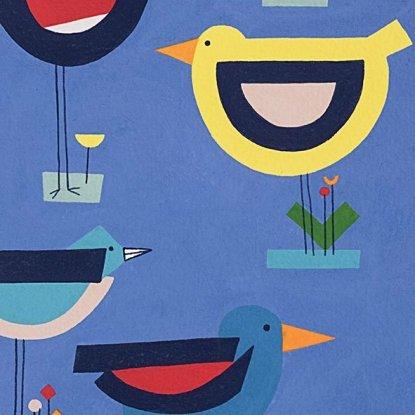 Song Birds 8613 Blue