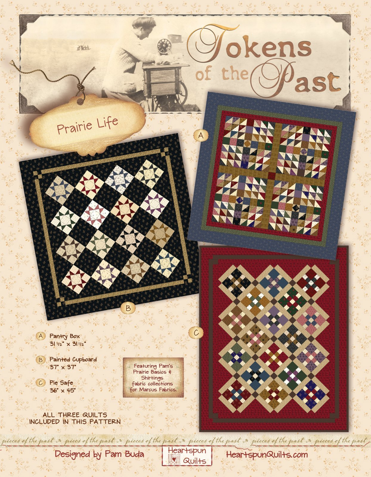 Prairie Life  - Tokens of the Past Kit