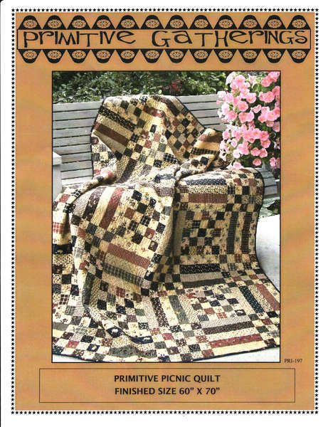 Primitive Picnic Quilt