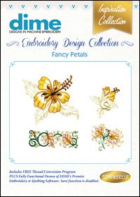 Fancy Petals Embroidery Design Collection