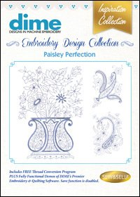 Paisley Perfection Embroidery Design Collection