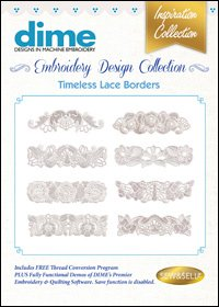 Timeless Lace Borders Embroidery Design Collection