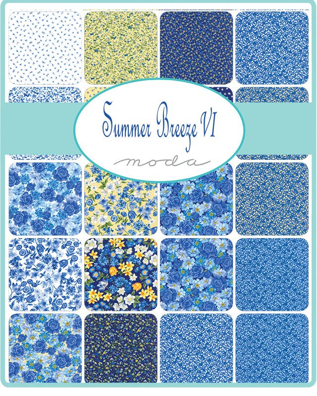 Moda Summer Breeze IV Charm Pack