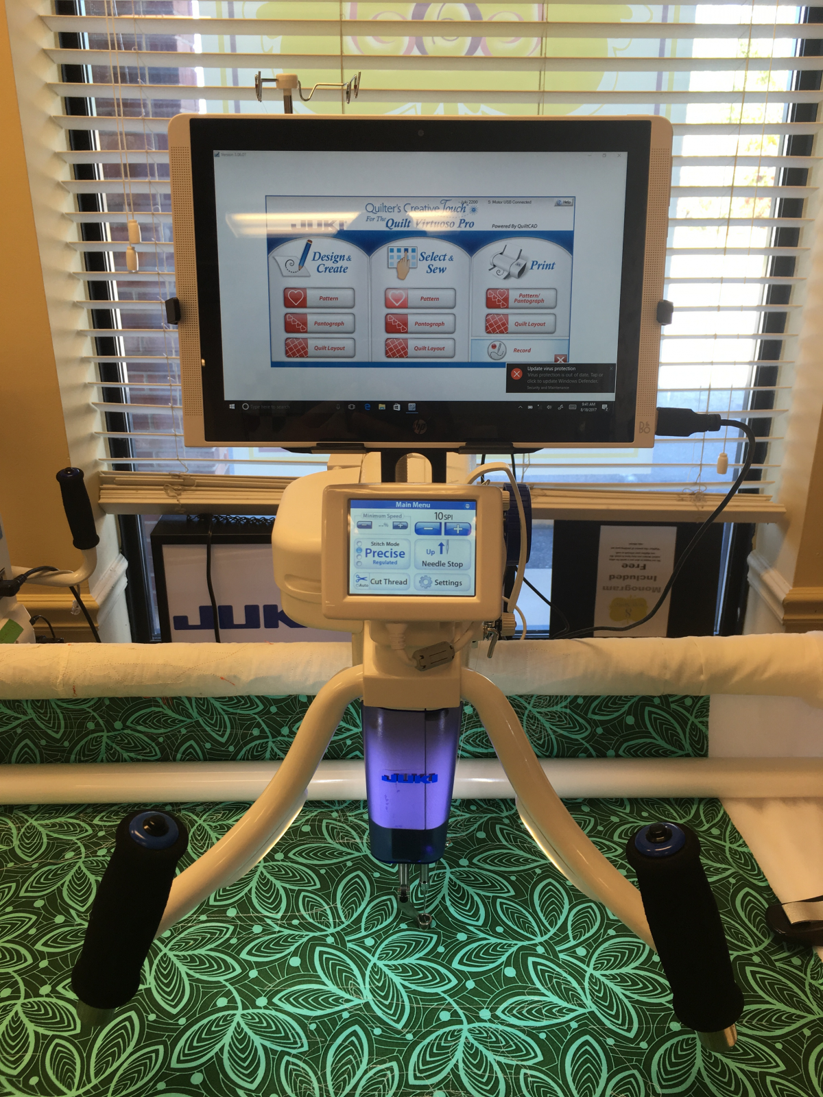 Juki Quilter's Creative Software + Robotics