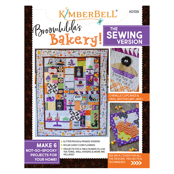 KIMBERBELL Broomhildas Bakery Book Sewing Version