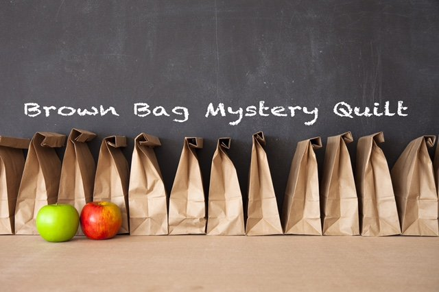 Brown Bag Mystery Quilt Kit & Clues