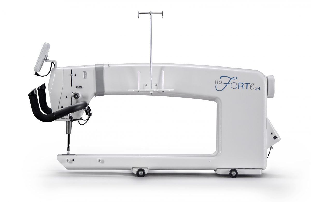 HQ Forte 24 Long Arm & Pro-Stitcher & with 12' HQ Gallery 2 Frame