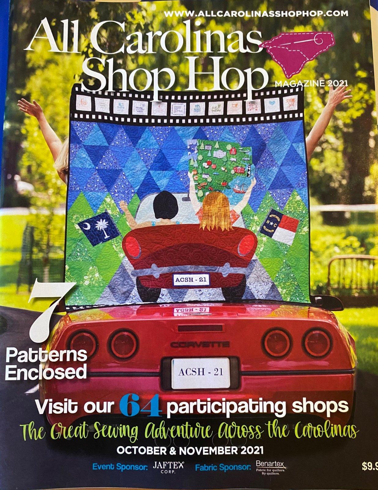 Shop Hop All Carolinas Magazine 2021