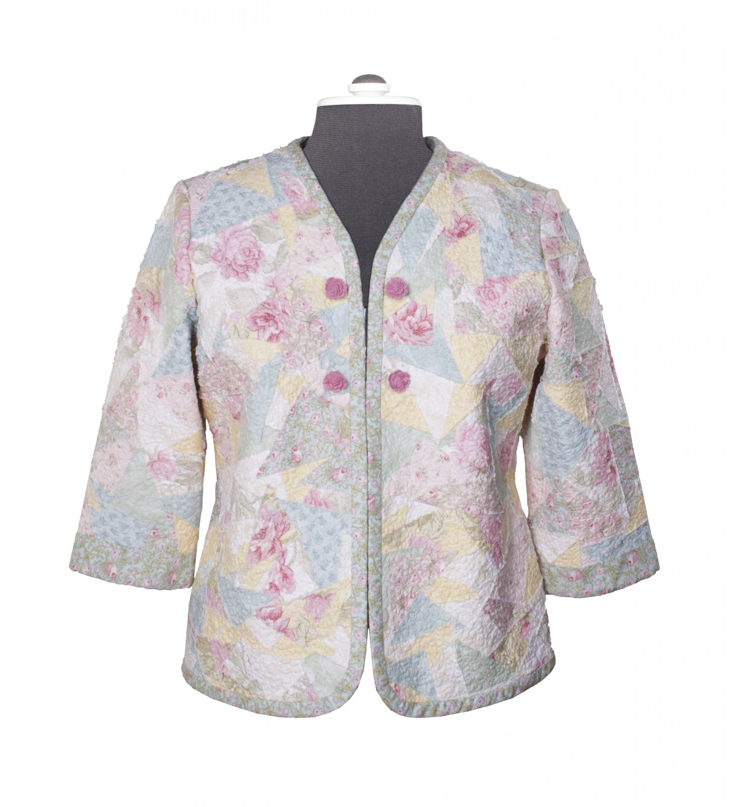 Pretty In Pink Fleece-Based Jacket