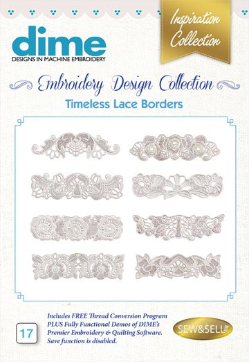 DIME Timeless Lace Borders