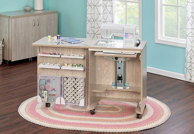 Compact Sewing Cabinet