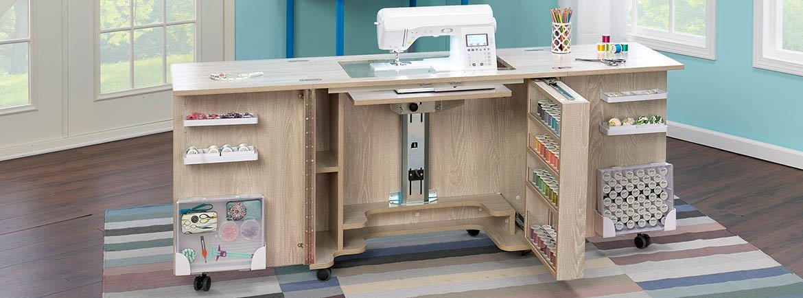 Duo Sewing Cabinet