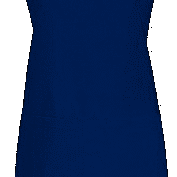 Blank Blue Apron for Embroidery