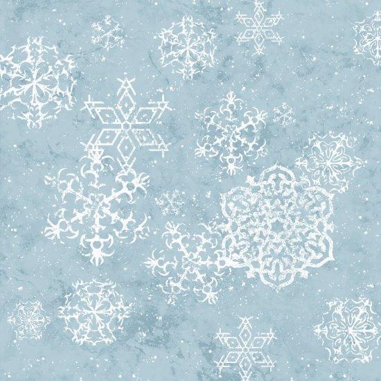 Sheltering Snowman 1311-11 snowflake