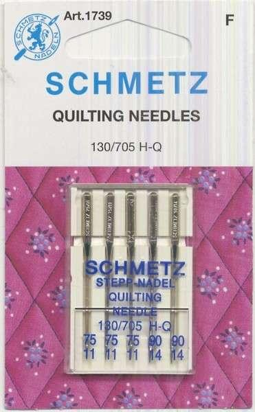 Schmetz Quilting Machine Needle-Sizes 11/75 & 14/90