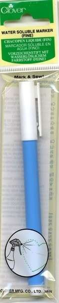 Water Soluble Marker Blue-Fine by Clover