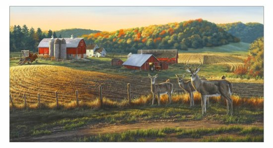 Farm & Country 8900-multi panel - 30% OFF